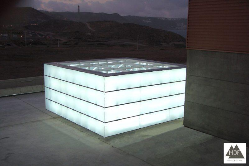Estructura metálica Centro Comercial Las Terrazas