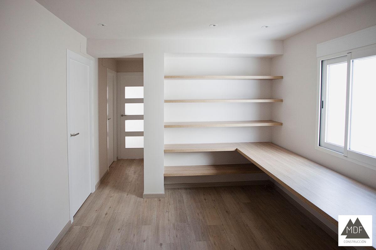 Reforma vivienda muebles medida