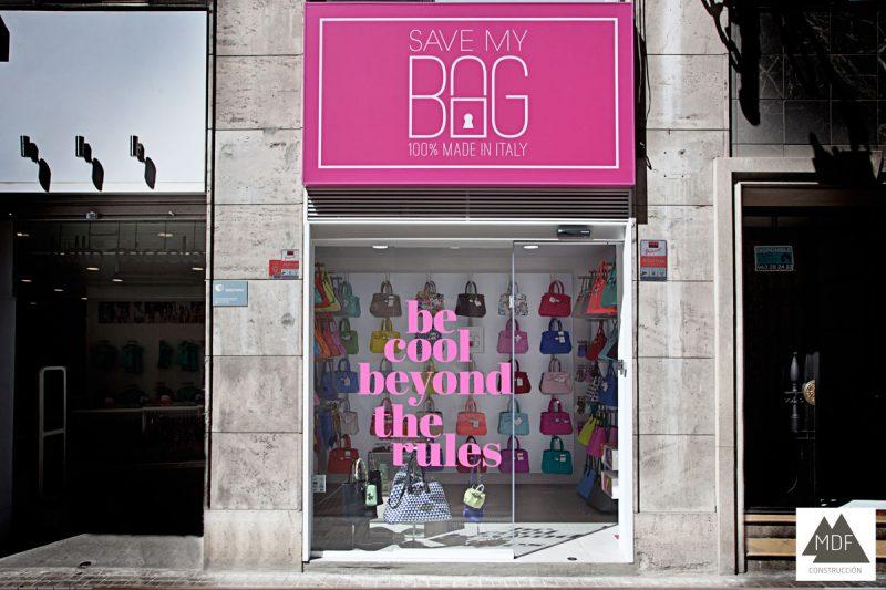 Reforma local franquicia Valencia – Save My Bag