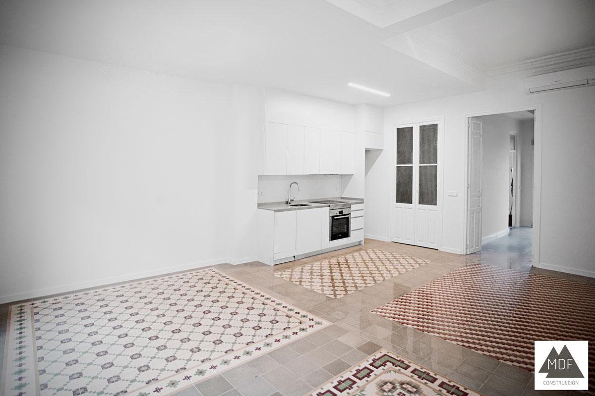 Reforma integral en ruzafa empresa constructora y for Reformas de pisos antiguos